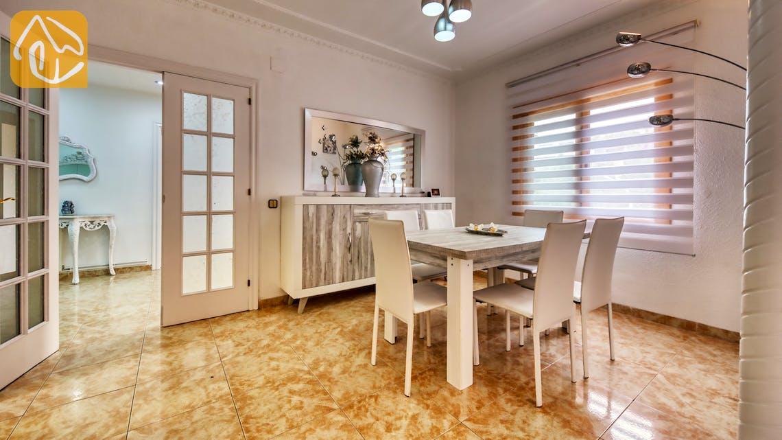 Villas de vacances Costa Brava Espagne - Villa Sarai - Dining area