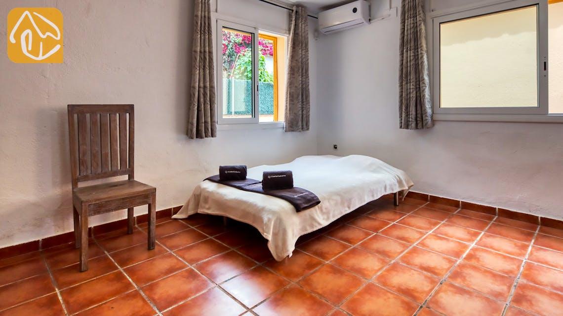 Villas de vacances Costa Brava Espagne - Villa Sarai - Chambre a coucher