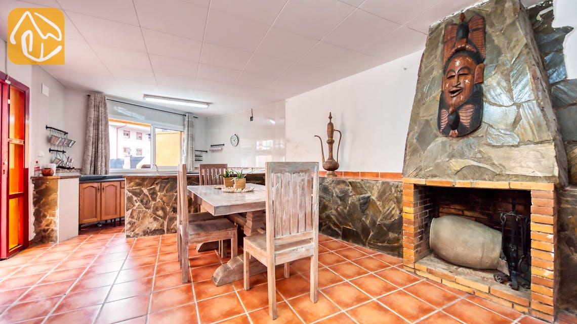 Villas de vacances Costa Brava Espagne - Villa Sarai - Additional kitchen