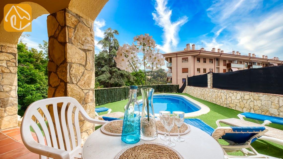 Villas de vacances Costa Brava Espagne - Villa Sarai - Coin romantique