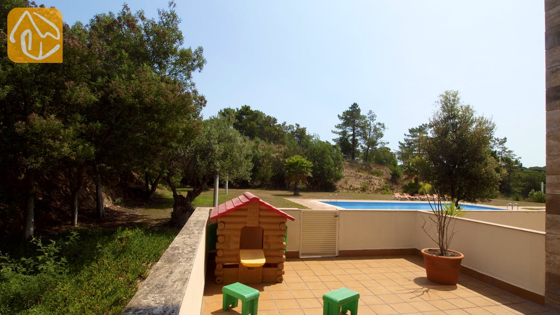 Holiday villas Costa Brava Spain - Apartment Monte Cristo - Terrace