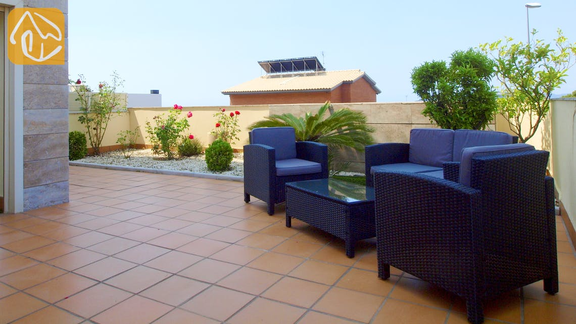 Holiday villas Costa Brava Spain - Apartment Monte Cristo - Lounge area
