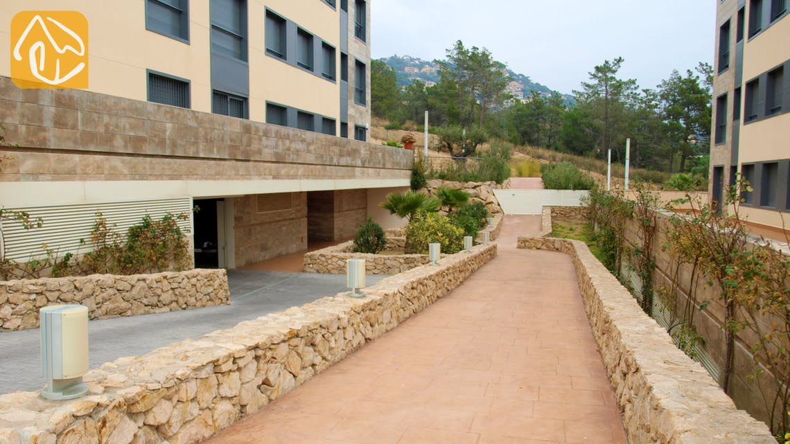 Villas de vacances Costa Brava Espagne - Apartment Monte Cristo - Parking
