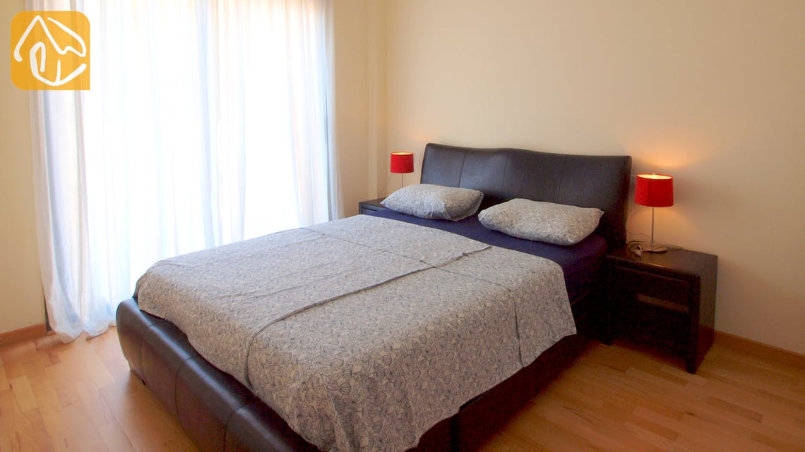 Holiday villas Costa Brava Spain - Apartment Monte Cristo - Bedroom