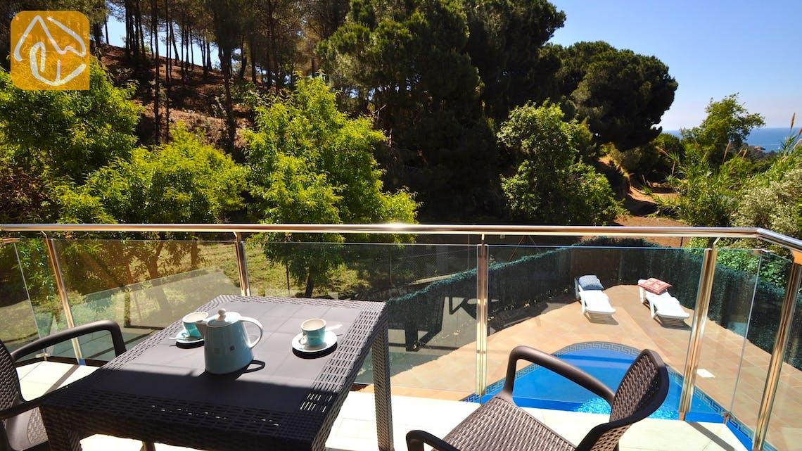 Holiday villas Costa Brava Spain - Villa Rosalia - Terrace