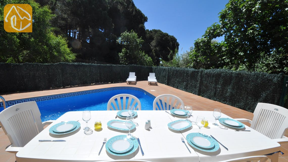 Vakantiehuizen Costa Brava Spanje - Villa Rosalia - Terras