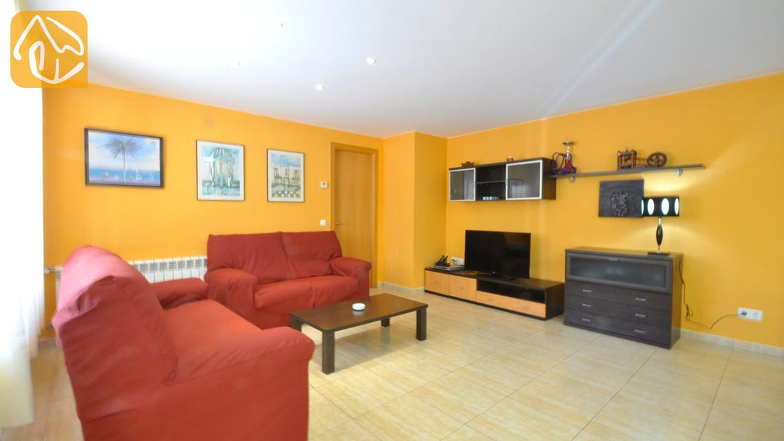 Holiday villas Costa Brava Spain - Villa Rosalia - Living area