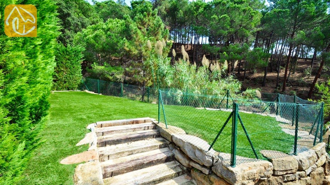Holiday villas Costa Brava Spain - Villa Rosalia - Garden