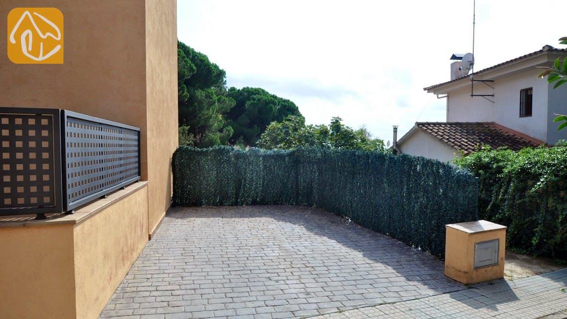 Vakantiehuizen Costa Brava Spanje - Villa Rosalia - Parking