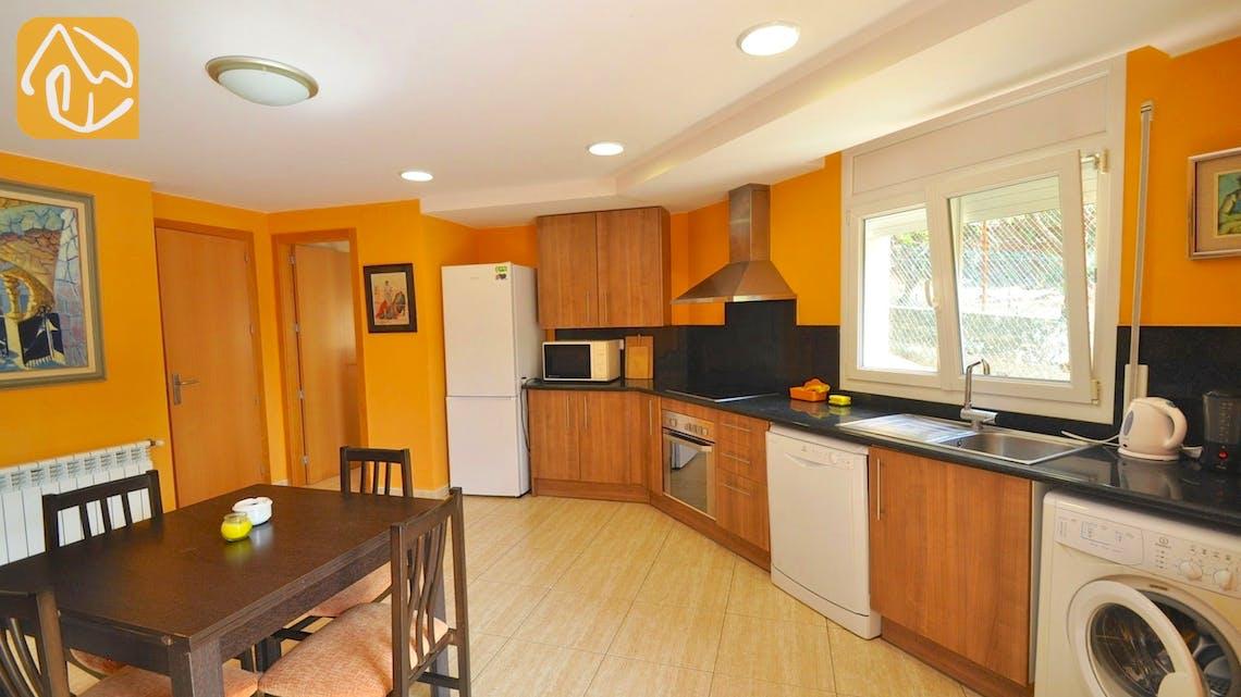 Vakantiehuizen Costa Brava Spanje - Villa Rosalia - Keuken