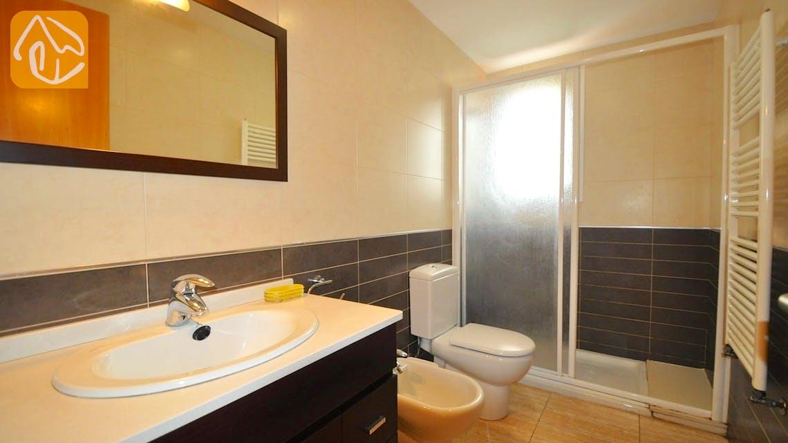 Holiday villas Costa Brava Spain - Villa Rosalia - Bathroom