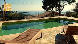 Holiday villas Costa Brava Spain - Villa Raquel - Swimming pool