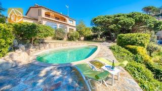 Ferienhäuser Costa Brava Spanien - Villa Riviera - Villa Außenbereich
