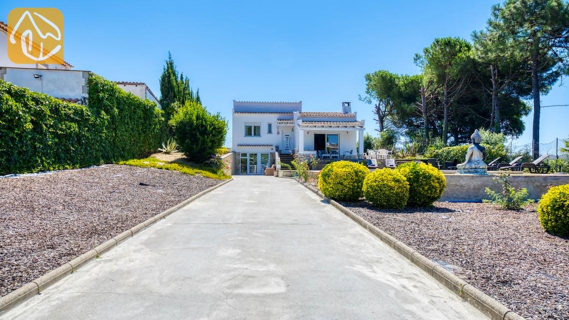 Vakantiehuizen Costa Brava Spanje - Villa Violeta - Driveway