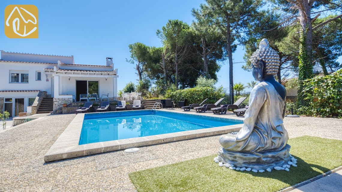 Ferienhäuser Costa Brava Spanien - Villa Violeta - Schwimmbad