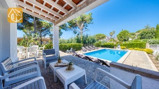 Holiday villas Costa Brava Spain - Villa Violeta - Lounge area