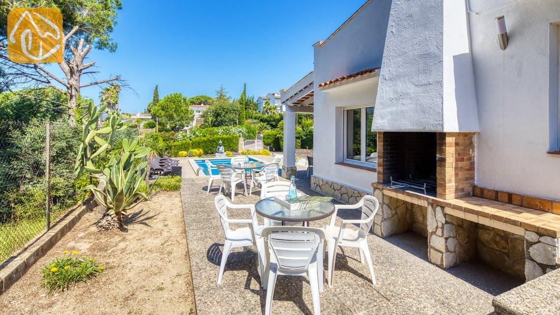 Casas de vacaciones Costa Brava España - Villa Violeta - BBQ Area