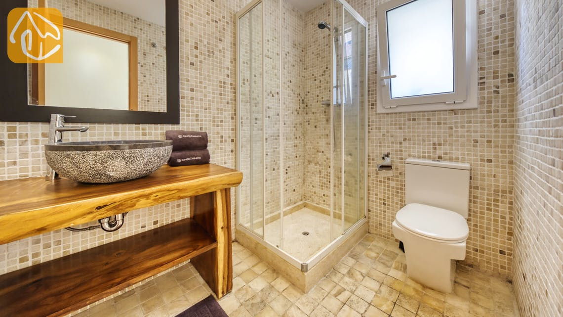Holiday villas Costa Brava Spain - Villa Nicky - Bathroom