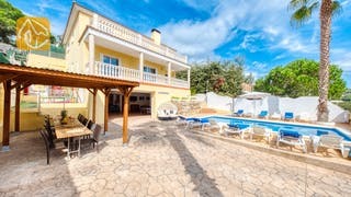 Ferienhäuser Costa Brava Spanien - Villa Ashley - Villa Außenbereich