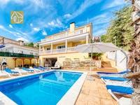 Ferienhäuser Costa Brava Spanien - Villa Ashley - Schwimmbad