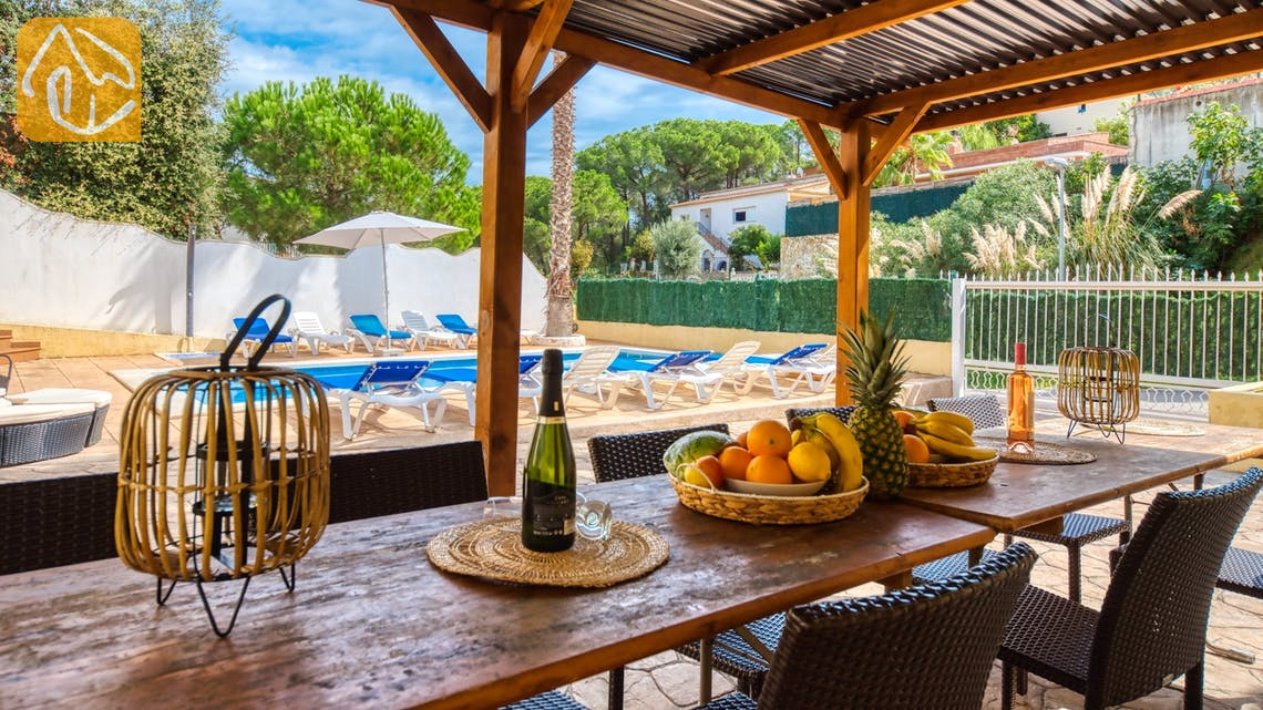 Casas de vacaciones Costa Brava España - Villa Ashley - Sala de estar