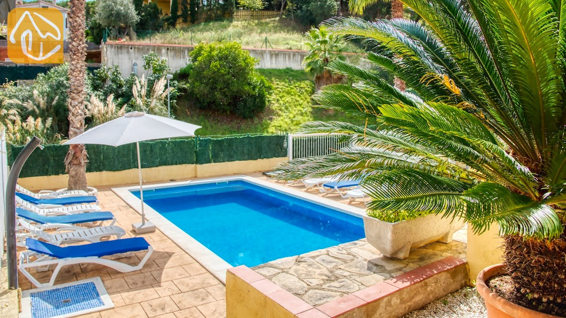 Casas de vacaciones Costa Brava España - Villa Ashley - Piscina