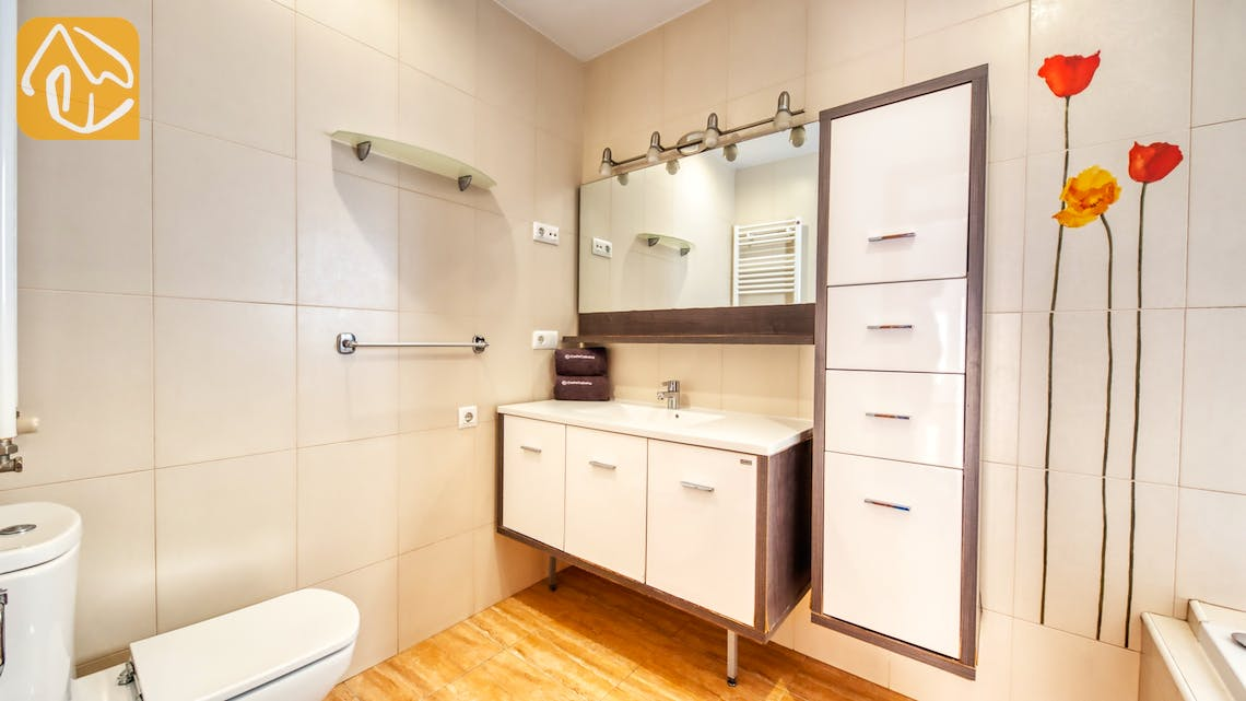 Casas de vacaciones Costa Brava España - Villa Ashley - Baño