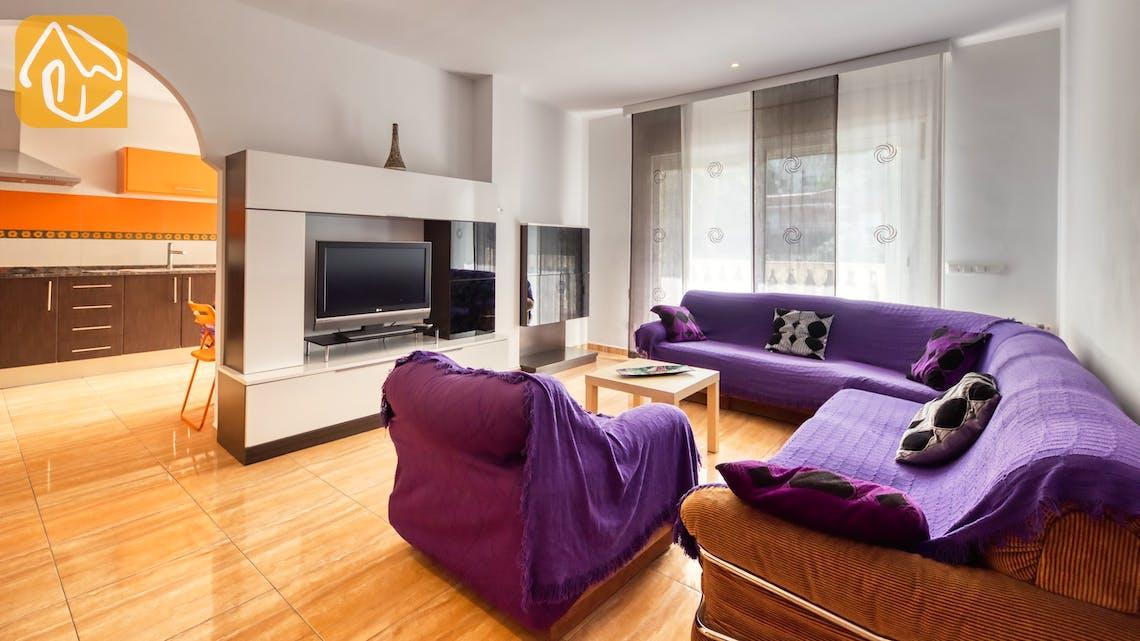 Holiday villas Costa Brava Spain - Villa Ashley - Living area