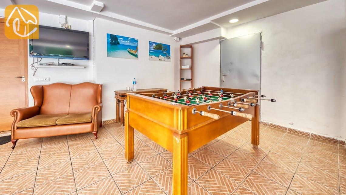 Ferienhäuser Costa Brava Spanien - Villa Ashley - Spielplatz