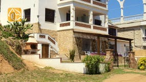 Casas de vacaciones Costa Brava España - Casa Pilar - Afuera de la casa