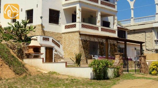 Ferienhäuser Costa Brava Spanien - Casa Pilar - Außenbereich