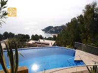 Holiday villas Costa Brava Spain - Villa Jeanine - Swimming pool