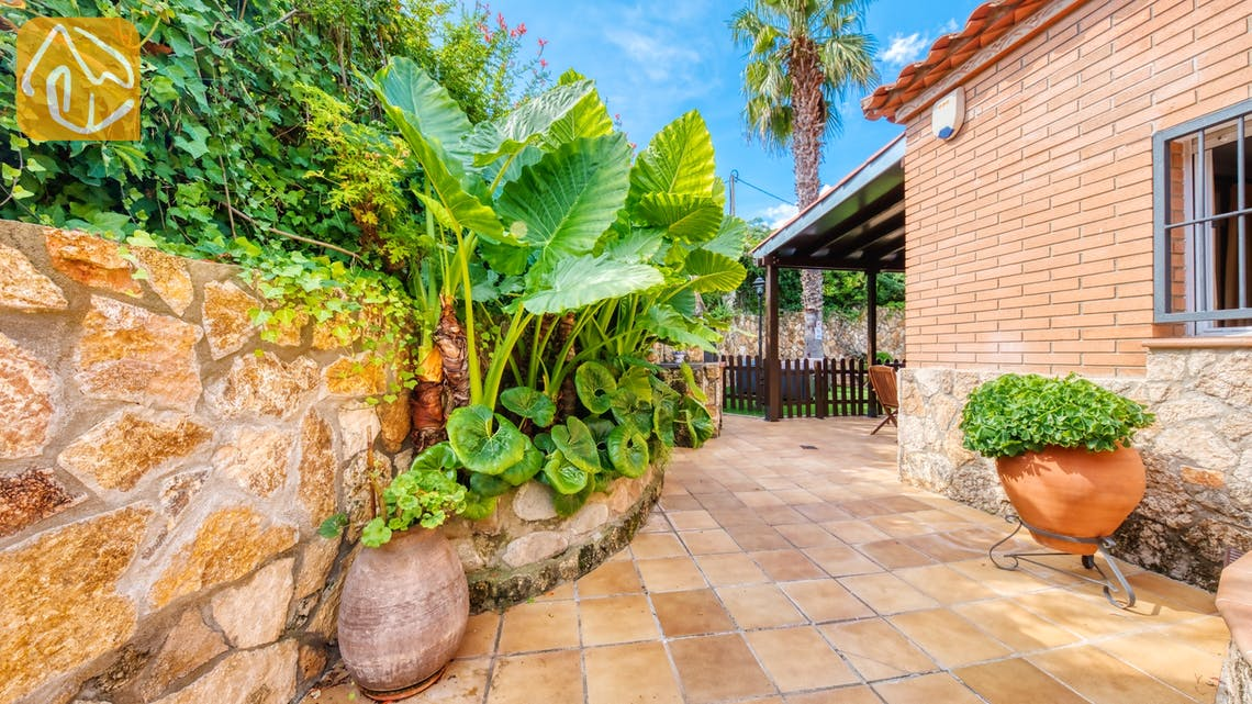 Holiday villas Costa Brava Spain - Villa Alba - Villa outside