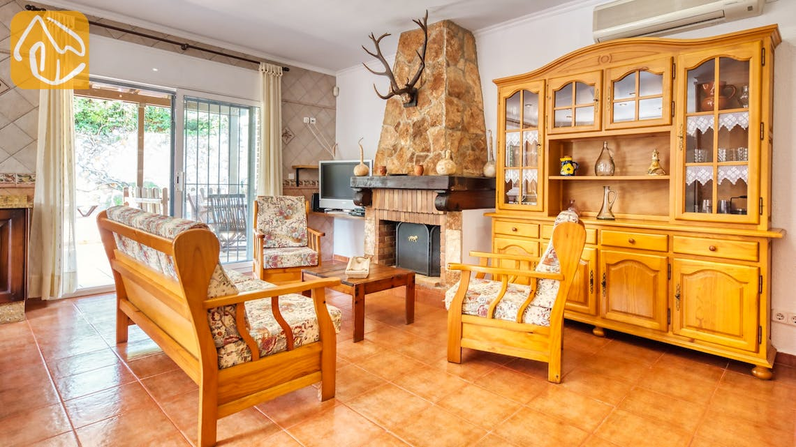 Holiday villas Costa Brava Spain - Villa Alba - Living area