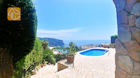 Holiday villa Spain - Villa Flor - One of the views
