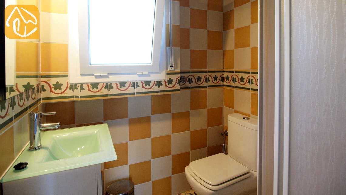 Holiday villas Costa Brava Spain - Villa Eva - Bathroom