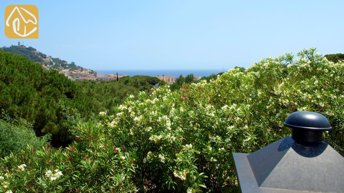 Holiday villas Costa Brava Spain - Villa Eva - One of the views