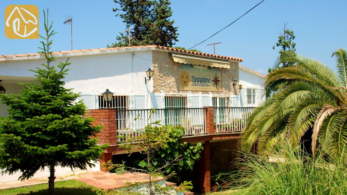 Holiday villas Costa Brava Spain - Villa Eva - Garden