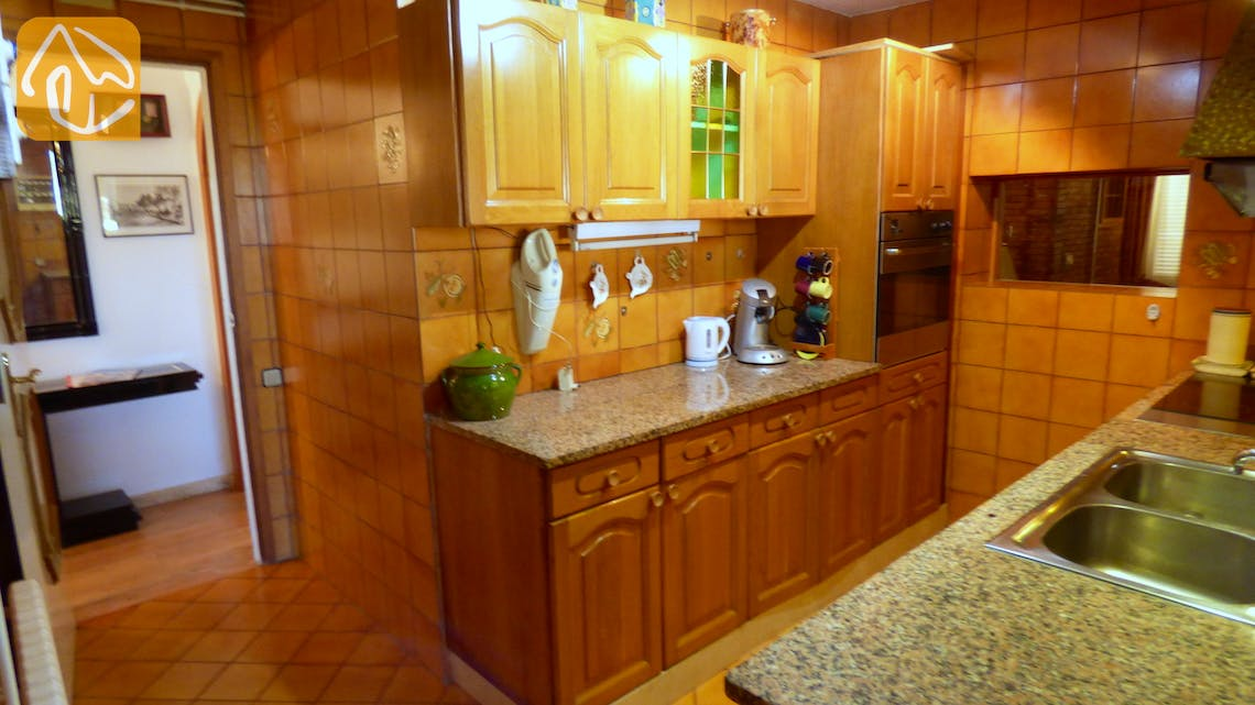 Holiday villas Costa Brava Spain - Villa Eva - Kitchen