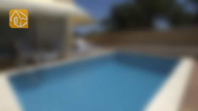 Holiday villas Costa Brava Spain - Villa Treumal - Swimming pool