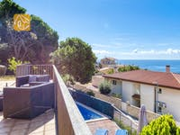 Casas de vacaciones Costa Brava España - Villa Mauri - Afuera de la casa