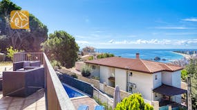Holiday villas Costa Brava Spain - Villa Mauri - Villa outside