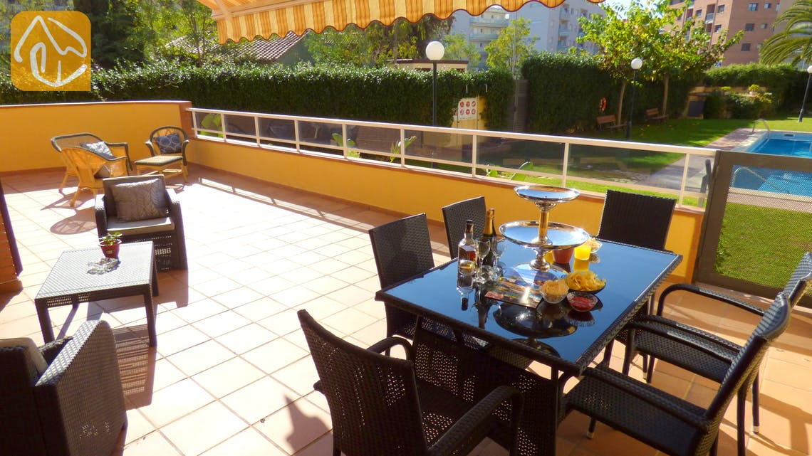 Holiday villas Costa Brava Spain - Apartment Silvana - Terrace