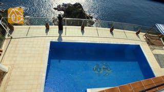 Casas de vacaciones Costa Brava España - Villa Infinity - Piscina