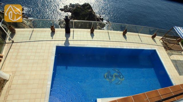 Ferienhäuser Costa Brava Spanien - Villa Infinity - Schwimmbad