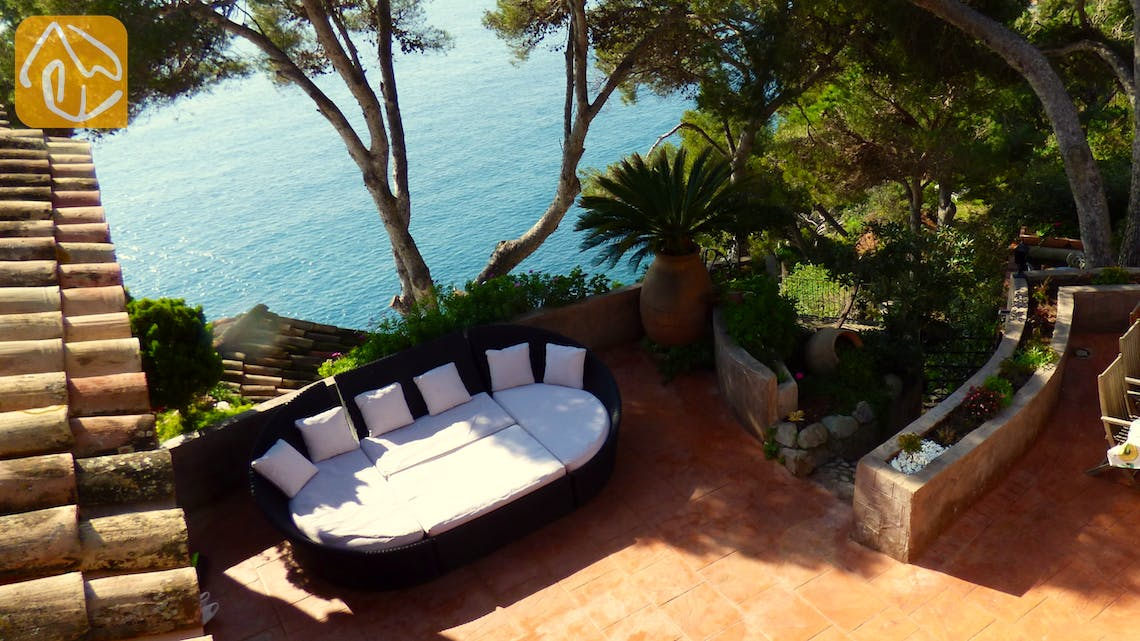 Holiday villas Costa Brava Spain - Villa Infinity - Romantic spot