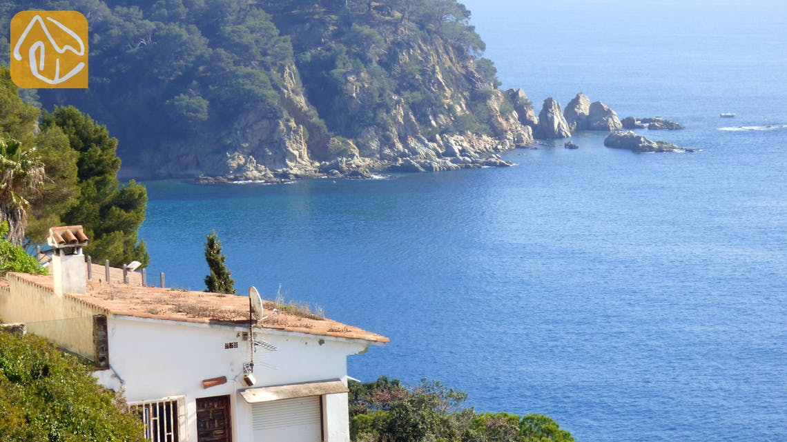 Holiday villas Costa Brava Spain - Villa Infinity - One of the views