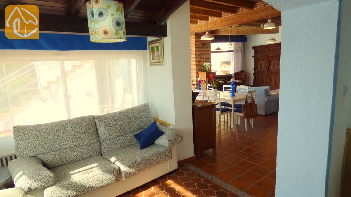 Holiday villas Costa Brava Spain - Villa Infinity - Living area