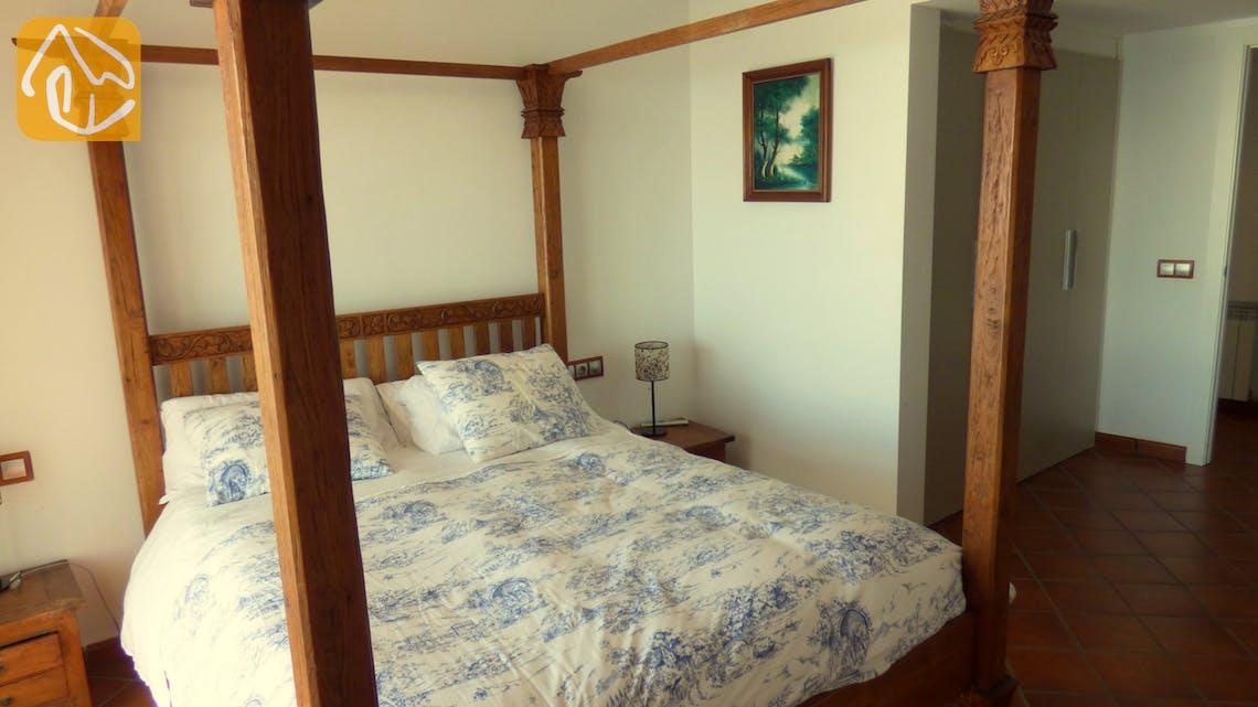 Vakantiehuizen Costa Brava Spanje - Villa Infinity - Hoofd slaapkamer