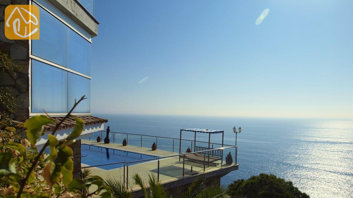 Villas de vacances Costa Brava Espagne - Villa Infinity - Piscine
